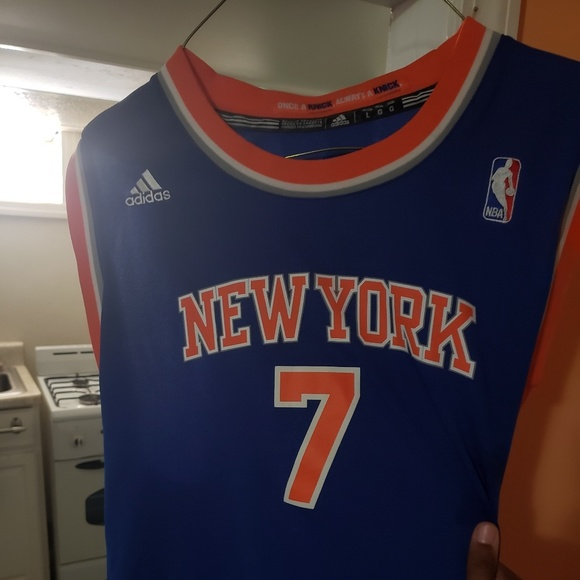 low priced 0a4b3 44095 Kids THROWBACK Knicks Jersey!! (ANTHONY)